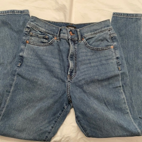 Express jeans High Rise skinny jeans size 8 Regular
